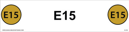 D-388 API COLOR CODED DECAL - E15