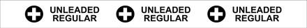 "TC-03-O ""UNLEADED REGULAR"" API Plastic Tank Collar"