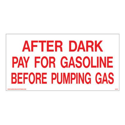 D-673 Payment Decal - AFTER DARK...