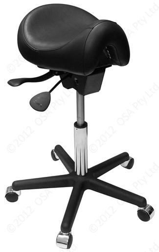 Ergo Saddle Chair No Back Andrews Office Furniture