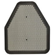 BLACK ECO CHOICE URINAL MAT