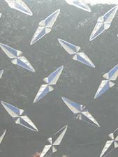 "24"" x 48"" Diamond Plate Sticker"