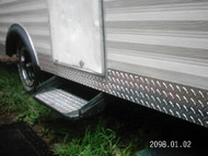 Diamond Plate Camper
