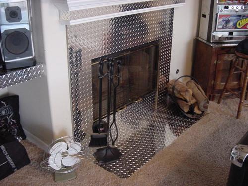 Diamond Plate Fireplace Cutsmetal Net