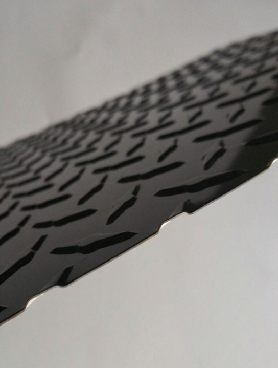 Black Diamond Tread Aluminum Sheet Black Checker Plate Sheet