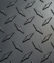 GUNMETAL Gray Aluminum Diamond Plate - Various Sizes