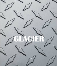 GLACIER Gray Aluminum Diamond Plate - Various Sizes