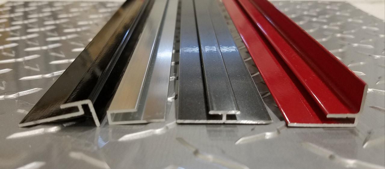 Extruded Aluminum Trim 48 Quot Aluminum Corner Trim