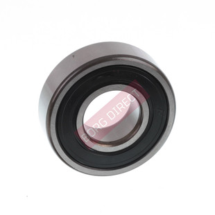 SKF bearings are manufactured to the highest quality standards. These are  one of the most commonly used bearings, these types are manufactured with  rubber seals inserted into the outer raceway and in contact with the inner  race providing protection against the ingress of moisture, dust and other  foreign matter and serve to retain the pre-filled grease in the bearing. Seals can be easily removed.