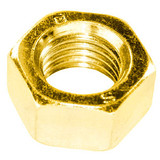 Brass Hexagon Nuts (Self-Colour) M10