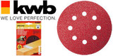 115mm Quick-Stick Sanding Discs - 80 Grit