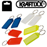 Kraftixx Key Tags (Pack of 8) Assorted colours