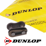"Dunlop British Standard 08B1 Connecting Link 1/2"" Pitch For Simplex Roller Chain"