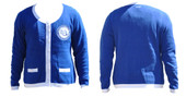 Cardigan:  Zeta  Phi Beta Heavyweight Royal  Cardigan