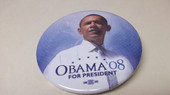 Obama For President '08  Button