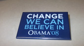 Change We Can Believe in '08