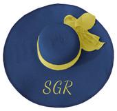 BLUE SIGMA GAMMA RHO  FLOPPY HAT