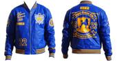Jacket-  Royal Sigma Gamma Rho  PU Jacket