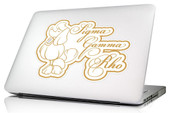 SGRHO  Mini  Laptop Skin/Wall Decal