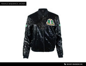 Jacket:    AKA Black  Sequins Jacket