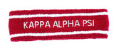 HEADBAND:  Kappa Alpha Psi   Terry  Headbands
