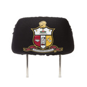 AUTO:     Kappa Alpha Psi   Black  SUV  Headrest Cover