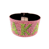 BRACELET:   AKA  Pink Bling Bracelet  With Magnetic Closure