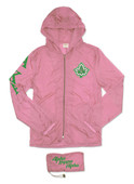 Jacket:  Pink AKA  Lightweight Jacket with Pocket