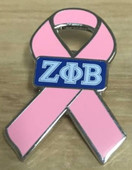 2018 ZPB Breast Cancer Awareness Lapel Pins.