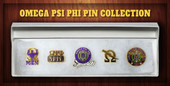 PIN:  Omega Psi Phi  Pin  Collection