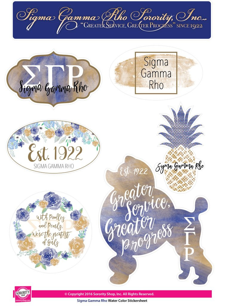 f5fa8716142c SGRHO Water Color Stickers - Prime Heritage Gifts