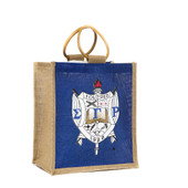 Bag:  Mini Jute Bag With Shield