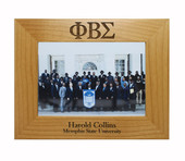 College  Pride  Greek  Frame