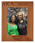 Photo Frame can be personalized for either Silver Star or Golden Soror