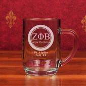 Glass Mugs- A set of 2  ( 19.5 oz ) Haworth Mugs