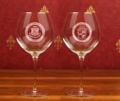 Titanium Stemware Line- A set of 2  ( 22 oz.)  Titanium Robusto Glasses