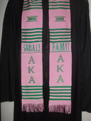 Personalized Greek Kente Stoles