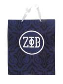 Gift Bag:  Zeta Phi Beta Large Gift  Bag  (SOLD IN SETS OF 2)