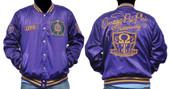 Jacket  - Omega Psi Phi Satin Jacket