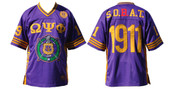 Jersey -  Omega Psi Phi Football  Purple Jersey