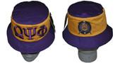 Headgear -  Omega Psi Phi Gold Bucket Hat