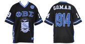 Jersey -  Phi Beta Sigma Football Jersey  (1914) (SOLD OUT 5XL)