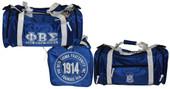 Phi Beta Sigma Duffle Bag