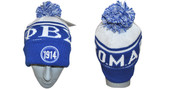 Head Gear  -  Phi Beta Sigma Royal 1914 Beanie