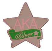 Jewel:  AKA Silver Star Pin