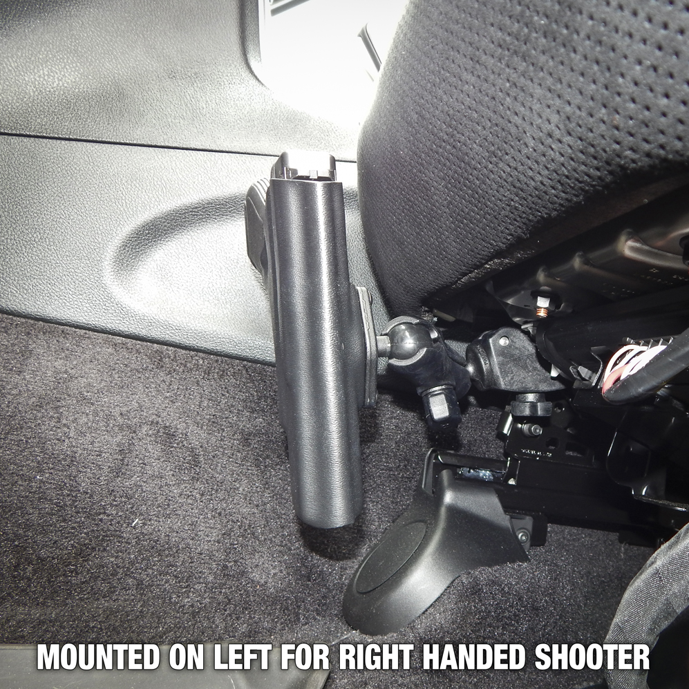 Glock 19 Mounted Holster for Vehicle