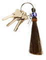 Horse Hair Key Ring