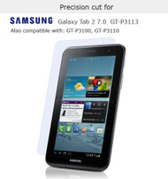 "Screen Protector for Samsung Galaxy Tab 2 / 7.0"" GT-P3113 / P3110 / P3100"