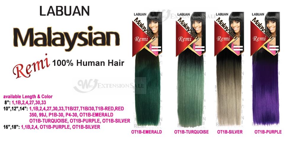 Human Hair Weave Amy Labuan Malaysian 8101214
