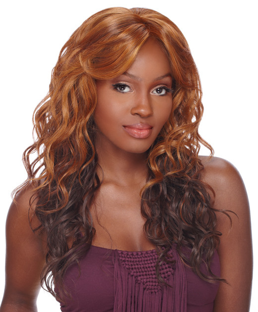 Sensationnel Synthetic Empress Natural Lace Front Edge Wig Bliss